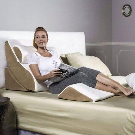 Gối tựa đầu giường có gác chân